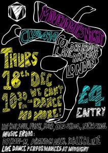 Movenomics Dance Night @ Club 414 | London | United Kingdom