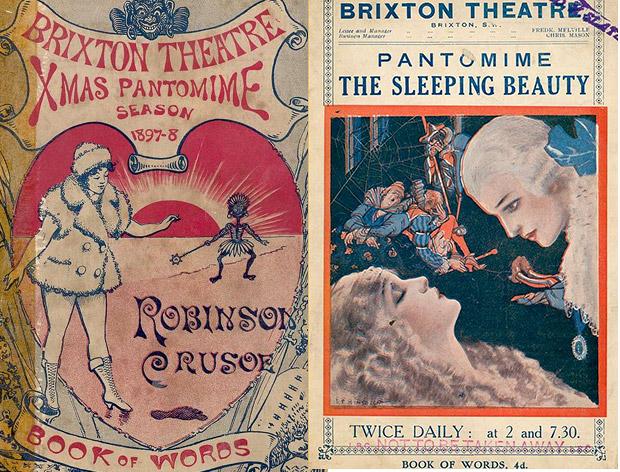 Christmas pantomime shows