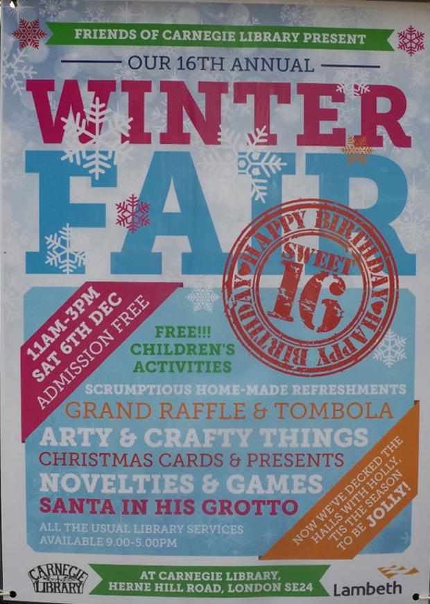 Christmas Crafts Fair Streatham