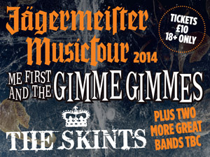 The Jagermeister Music Tour 2014  @ O2 Academy Brixton | London | United Kingdom