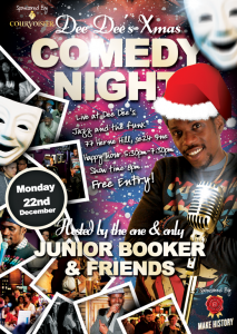 Dee Dee's Xmas Comedy Club @ Dee Dee's Jazz and the Funk | London | United Kingdom