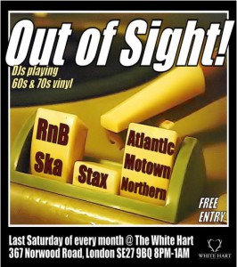 Out of Sight @ White Hart Pub, Tulse Hill | London | United Kingdom