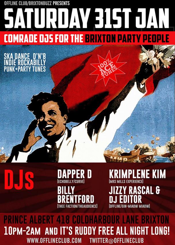 Offline Club Brixton Saturday Night special @ Prince Albert | London | United Kingdom