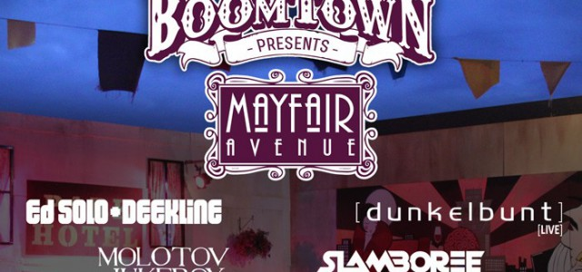 BoomTown Fair, Continental Drifts, GoMad Events and Deep Brass are combining their joint skills as ultimate party purveyors and bringing a section of BoomTown's immersive and outlandish festival to Electric […]