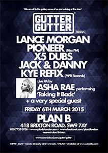 Gutter Gutter @ Plan B | United Kingdom