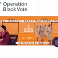 Operation Black Vote eXpress bus tour launches in Windrush Square, Brixton, 26th Feb