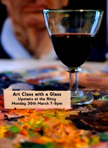 Art Class with a Glass @ Upstairs at The Ritzy | London | United Kingdom