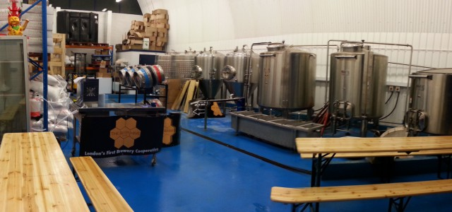 Brixton's London Beer Lab has teamed up with Clarkshaws Brewing Company from East Dulwich to open a newco-operative brewery based on Belinda Road in Loughborough Junction.