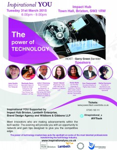 Women who inspire - The power of technology 2 @ Impact Hub Brixton | London | United Kingdom