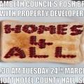 24th March: Protest against Lambeth Leader's 'elitist' £90 breakfast planning talks in swish hotel
