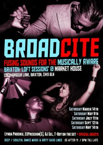 Broadcite - upstairs @ Market House | London | United Kingdom