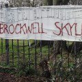 Cressingham Gardens protest banners go up as residents fight to save their homes
