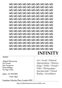 INFINITY Art Exhibition @ Valentia Place | London | United Kingdom