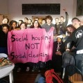 Housing Action Southwark and Lambeth hold a free Supper Club in Brixton - photos