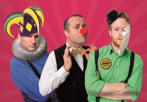 Reduced Shakespeare Company In THE COMPLETE HISTORY OF COMEDY (Abridged) @ LOST Theatre | London | United Kingdom