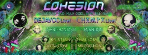 Cohesion Psychedelic Wonderland Adventure @ Club 414   London   United Kingdom