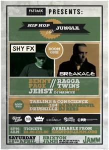 Hip Hop meets Jungle @ Brixton Jamm | London | United Kingdom