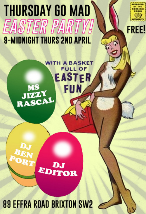 Busy Easter Thursday Brixton scenes at the Effra Social and Dogstar - photos