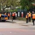 Brixton Guinness Trust residents alarmed as an army of security guards assemble outside their homes