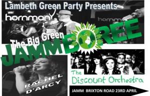 The Big Green Jammboree! @ Brixton Jamm | London | United Kingdom