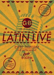 Latin Live @ Gremio de Brixton | London | England | United Kingdom