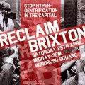 Reclaim Brixton leaflets printed in advance of Windrush Square event on the 25th April