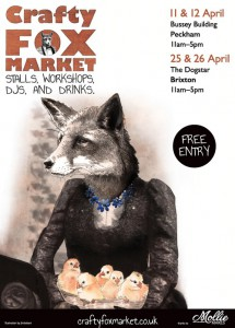 Crafty Fox Spring Markets - Brixton @ The Dogstar | United Kingdom