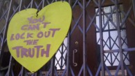 Avideo has appeared online alleging that local volunteers have been'locked out' of thecommunity project at No 6 Somerleyton Road, after landlords Brixton Green changed the locks without notice. Related Tags: