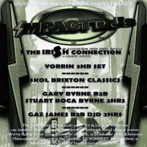 VINYL IMPACT : THE IRISH CONNECTION @ Club 414