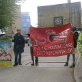 Brixton Guinness Trust residents and activists stage blockade
