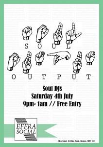 Soul Output @ Effra Social   London   United Kingdom