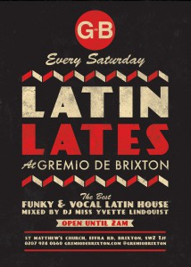 Latin Lates Meets Live Saxophone House @ Gremio de Brixton | London | United Kingdom