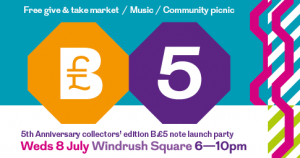 Brixton Pound note launch and Give/Take market @ Windrush Square | London | United Kingdom