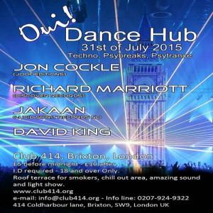 Oui Dance Hub @ Club 414   London   United Kingdom