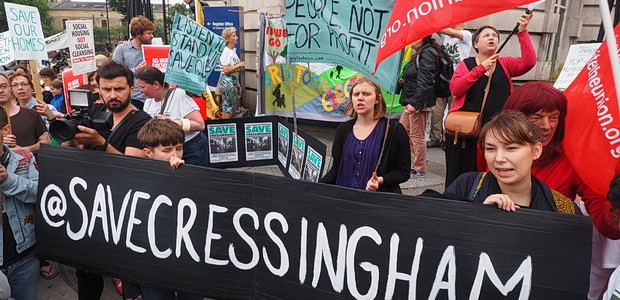 Once again, the battling residents of the Cressingham Gardens council estate in Tulse Hull are refusing to take Lambeth's plans lying down, with campaigners successfully lobbying a judge togrant permission […]