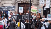 The Cressingham Gardens Estate in Lambeth, south London, has been temporarily saved following a court order preventing Lambeth Council from demolishing the estate until the conclusion of a legal challenge.