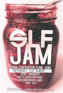 Soul Liberation Funk presents SLF Jam @ Upstairs at The Ritzy | London | United Kingdom