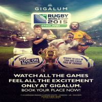 Rugby World Cup at Gigalum @ Gigalum | London | United Kingdom