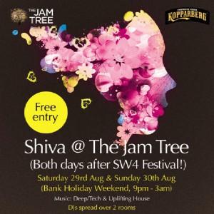 Shiva at The Jam Tree - Both Days After SW4 Festival @ The Jam Tree | London | United Kingdom