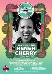 Brixton Boogaloo presents: Neneh Cherry (DJ Set) @ The Prince of Wales   London   United Kingdom