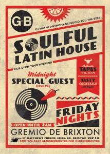 Soulful Latin House & LIVE PA @ Gremio de Brixton | London | United Kingdom