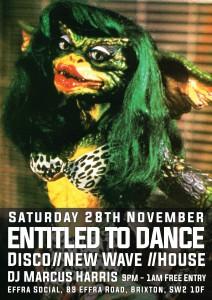 Entitled To Dance @ Effra Social | London | United Kingdom