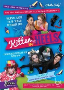 Kitten In Heels @ LOST Theatre | London | United Kingdom