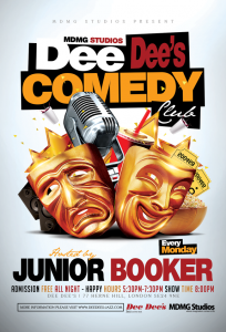 Dee Dee's Comedy Club (Every Monday Night) @ Dee Dee's Jazz and the Funk | London | United Kingdom