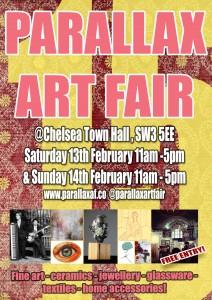 Parallax Art Fair February 2016 @ Chelsea Town Hall  | London | United Kingdom