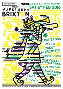 Mardi Gras Brixton All Day Festival @ Pop Brixton | London | United Kingdom
