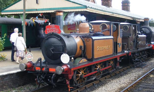 A Victorian steam locomotive called Brixton
