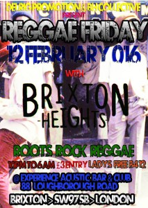 Reggae Friday @ Xperience Acoustic Bar & Club | London | United Kingdom