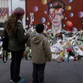 Brixton remembers David Bowie: the Brixton shrine three weeks after his death