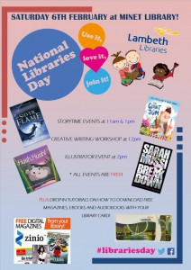 National Libraries Day at Minet Library @ Minet Library | London | United Kingdom